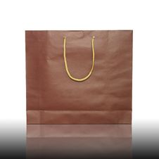 Free Red Shopping Bag Stock Photos - 24028613