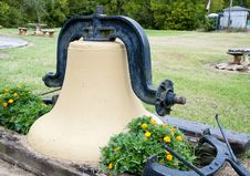 Free Old Heavy Liberty Bell Resting. Royalty Free Stock Photography - 24028967