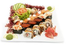 Free Japanese Sushi Royalty Free Stock Photos - 24029148