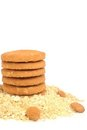 Free Oats Biscuits Royalty Free Stock Image - 24034786