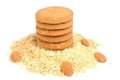 Free Oats Biscuits Royalty Free Stock Photo - 24034835
