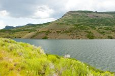 Free A Clear Cold Lake In Colorado Stock Photography - 24032992