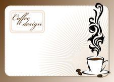 Free Coffee Design Stock Photo - 24034630