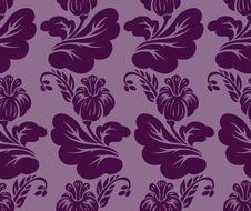 Free Purple Seamless Background Stock Photography - 24034932