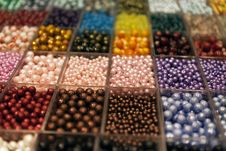 Free Beads In Boxes Stock Photos - 24035043