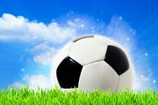 Free Abstract Football Backgrounds Royalty Free Stock Photos - 24035228
