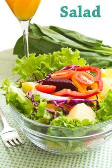 Free Salad Royalty Free Stock Photography - 24039967