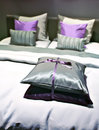 Free Bed Pillows Stock Images - 24042464