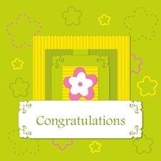 Free Greeting Card Royalty Free Stock Image - 24040616