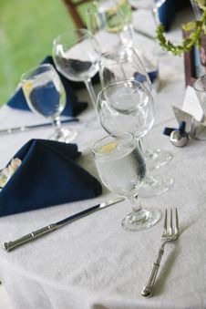 Free Wedding Table Details Stock Photos - 24043973
