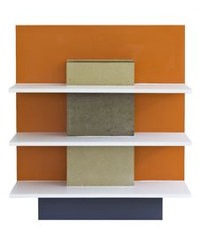 Free Orange Shelf Royalty Free Stock Images - 24045089