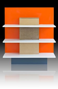 Free Orange Shelf Stock Image - 24045151