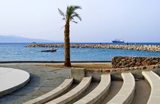 Free Northern Beach Of Red Sea, Eilat, Israel Stock Photos - 24045293