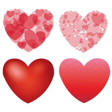 Free Heart Background Royalty Free Stock Photography - 24045377
