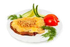 Free Meat With Cheese And Nuts Royalty Free Stock Photography - 24045387
