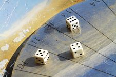 Free Sundial Dice Royalty Free Stock Image - 24045816