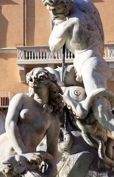 Piazza Navona &x28;Navona Square&x29; - Rome Royalty Free Stock Photos