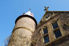 Tower And Gable End Royalty Free Stock Images