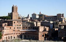 Trajans Market, Rome Royalty Free Stock Photo