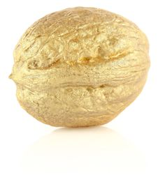 Free Golden Wallnut Stock Image - 24049161