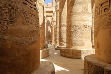 Free Karnak Templ Royalty Free Stock Photo - 24049405