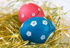Free Painted Easter Eggs Stock Photography - 24049772
