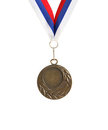 Free Medal On White Stock Image - 24052561