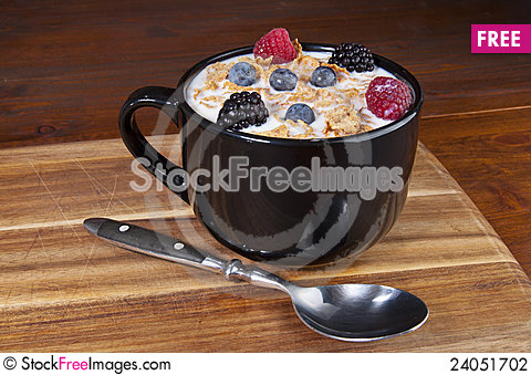 Free Cereal Bowl Stock Photography - 24051702