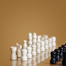 Free Chess Game Royalty Free Stock Photography - 24052557