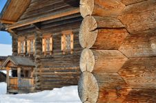 Free Old Rural Wooden Building Stock Image - 24055091