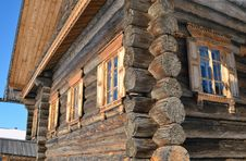 Free Old Rural Wooden House Royalty Free Stock Photography - 24055277