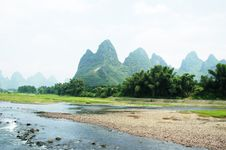 Free China Guilin Landscape Royalty Free Stock Images - 24058019