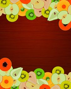 Free Fruity Message Stock Photos - 24059223