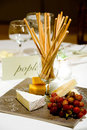 Free Cheese And Bread Sticks Royalty Free Stock Images - 24060919