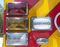 Free Firetruck Tail Lights Royalty Free Stock Photography - 24065607