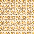 Free Retro Squares Pattern Royalty Free Stock Image - 24065866