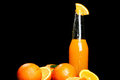 Free Fresh Orange Drink Stock Photography - 24069632