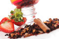 Free Fruit Tea With Strawberry Royalty Free Stock Photography - 24069787