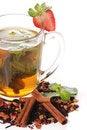 Free Fruit Tea With Strawberry Stock Photos - 24069793