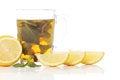 Free Mint Tea And Fresh Lemons Royalty Free Stock Photos - 24069798