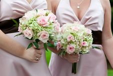 Free Wedding Bouquet Stock Photos - 24060203