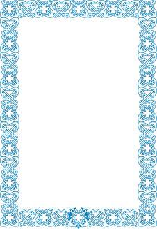 Free Marine Style Frame Stock Image - 24061621