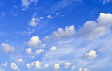 Free Interesting Cloudscape Formation Royalty Free Stock Photography - 24062837