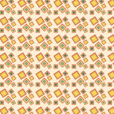 Free Retro Squares Pattern Royalty Free Stock Image - 24065866