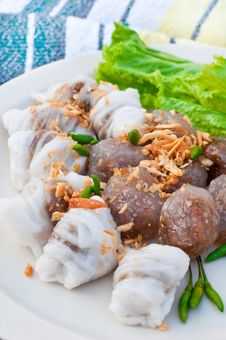 The National Dish Of Thailand Royalty Free Stock Images