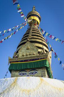 Free Buddha Stupa In Kathmandu Stock Photos - 24066773