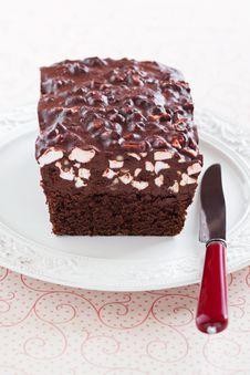 Free Chocolate Cake Royalty Free Stock Photos - 24067928