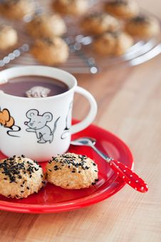Free Cookies Royalty Free Stock Photography - 24068657
