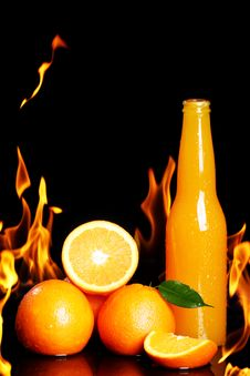 Free Hot Orange Drink Royalty Free Stock Image - 24069596