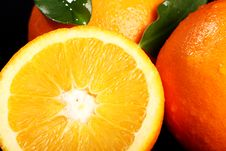 Free Close Up Of Fresh Orange Fruit Stock Photos - 24069653